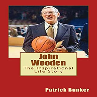 John Wooden audiobook cover art