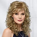 Brittany Wig by Paula Young - Long, Lush Wig with Relaxed, Spiraled Curls That Provide Volume and Fullness / 20+ Multi-tonal Shades of Blonde, Grey, Brown, and Red