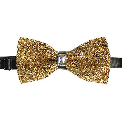 CANGRON Men GlitterSparkly Gold F…