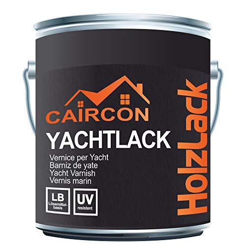 Yachtlack | Lack für Holz Glänzend Farblos | Yachfarbe Schiffslackierung Bootslack Holzlack für Schiff Boot etc. 2,5L