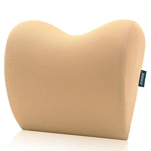 MSNLY Kit de Almohada para el Cuello para automóvil, Almohada para el Cuello Almohada de Espuma viscoelástica sin Polvo Space Cotton.