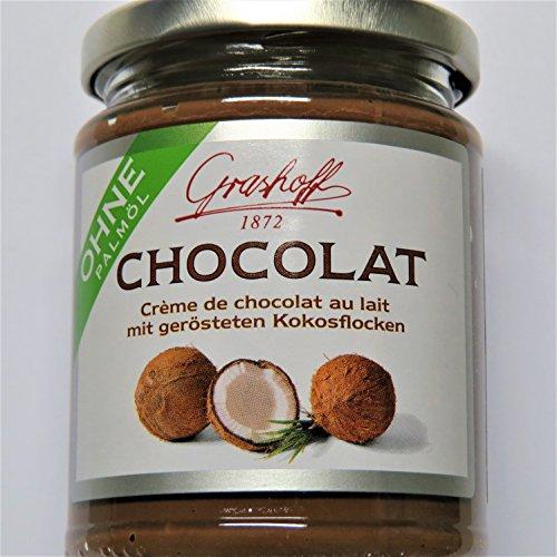 235g Grashoff Schokoladenmilchcreme mit Kokosnussflocken