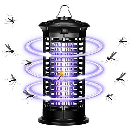 SaponinTree Lampe Anti Moustique Électrique, 6W UV LED Tueur de Moustiques Intérieur Pièges à...
