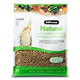 ZuPreem 230353 Natural Medium Bird Food, 2.5...