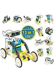 CENOVE STEM Solar Roboter Spielzeug 13 in 1 Sets