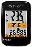 Bryton Compteur vélo GPS One, Adulte Mixte, 616110200000, Blanc, Taille Unique