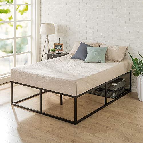 Zinus Joseph Modern Studio 45,72 cm Rete del letto / Base del materasso/ Non sono necessarie le molle/ Supporto resistente in legno per letto/ Montaggio facile/ 160 x 190 cm