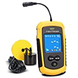 LUCKY Handheld Fish Finder Portable Fishing Kayak Fishfinder Fish Depth Finder Fishing Gear with Sonar...