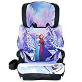 KidsEmbrace High-Back Booster Car Seat, Disney Frozen Elsa and Anna