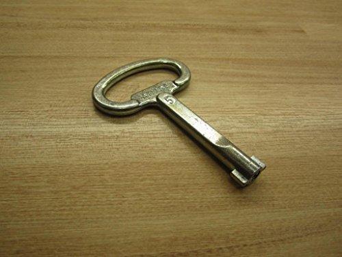 Rittal SZ 2531.000 – Rittal Schaltschrank-Schlüssel Doppelbart Nr. 5