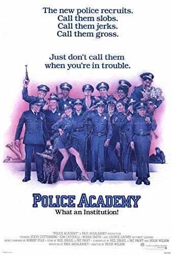 Police Academy Movie Poster (68,58 x 101,60 cm)