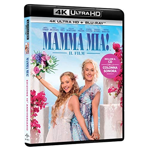 Mamma Mia 10Th Ann,Edit. Con Bonus Disc (4K+Br+Cd Mus.)