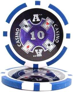 25 $10 Ace Casino 14 Gram Poker Chips