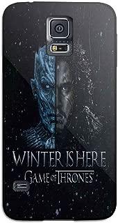 game of thrones jon snow For Samsung Galaxy S5 Black Case