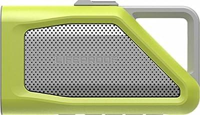 LifeProof Aquaphonics AQ9 Waterproof Portable Bluetooth Speaker - Grey/Citron Green by Otter Products EMEA