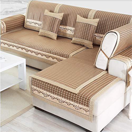 Funda de sofá reversible para muebles, impermeable, antideslizante, para niños, perros, funda para asiento de amor, funda para muebles (figura 2,60 x 90 cm)