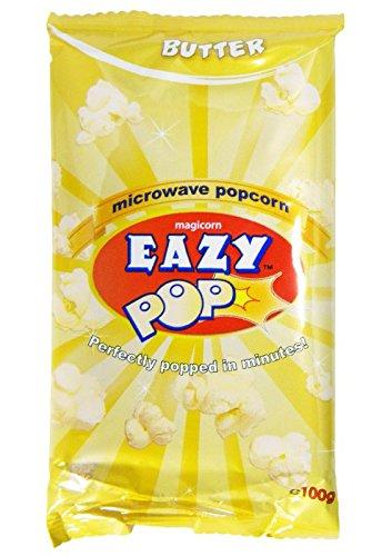 Eazy Pop - Butter-Popcorn - 3 x 100 g