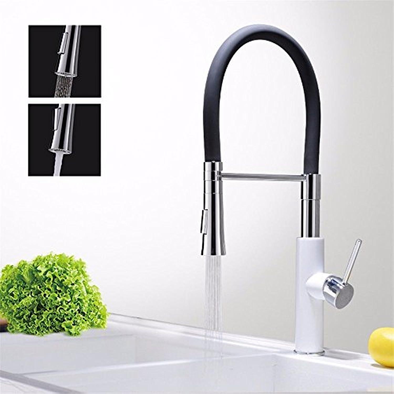 Wasserhhne Warmes und kaltes Wasser groe Qualitt der Kupfer Schwarz Wasser Küche Teller Waschbecken kaltes Wasser Steckplatz plus High-Draw - Antippen, um nach unten, Dick Wasser Leitungswasser