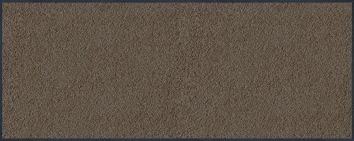 Wash+Dry Fußmatte Taupe, 75x190 cm, innen, waschbar