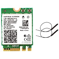 YANHUA Dual Band 2.4Gbps In tel Wi-Fi 6 AX200NGW 802.11Ax/Ac MU-MIMO 2X2 Wifi AX200 NGFF M.2 Bluetooth 5.0 Network Wlan Card+Antenna