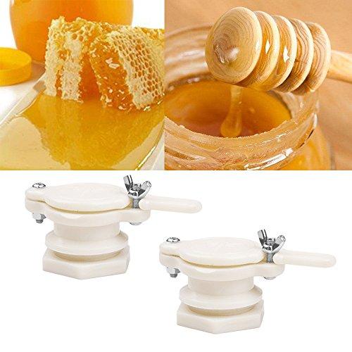 2pcs Plastic Honey Gate Valve Extractor Tap Beekeeping Bottling Tool Bee...