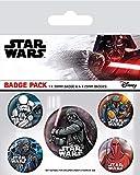 Pack Star Wars - Chapas Dark Side