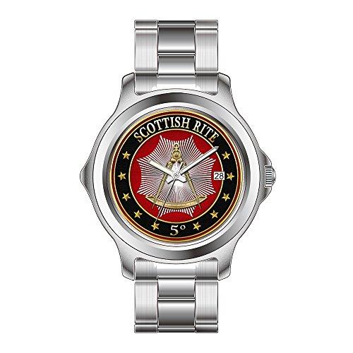 FDC Reloj de regalo de Navidad para mujer, cuarzo japonés, fecha, acero...