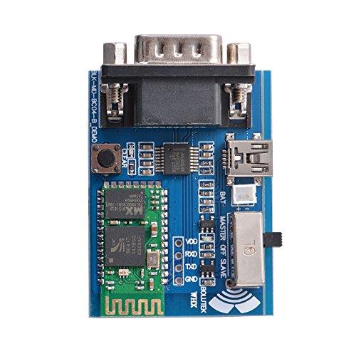 XCSOURCE® Puerto serie de perfiles (SPP) del adaptador RS232 Bluetooth Tablero del módulo de comunicación con Interfaz USB 5V Mini TE607