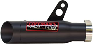 Coffman's Shorty Exhaust for Yamaha FZ10/MT10 (2016-2019) Sportbike with Black Tip