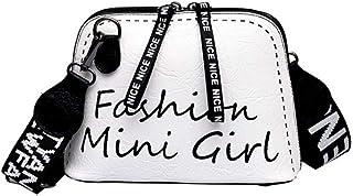 Wultia - Bags for WAMEN 2019 Women Crossbody Bag Tide Shell Bag Wide Shoulder Strap Wild Shoulder Bolsa Feminina White