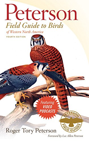 Compare Textbook Prices for Peterson Field Guide to Birds of Western North America, Fourth Edition Peterson Field Guides Fourth Edition ISBN 9780547152707 by Peterson, Roger Tory