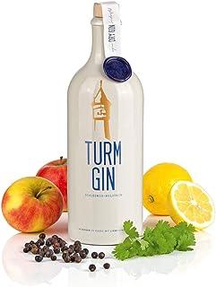 TURM GIN London Dry Gin - Echt nordisch, echt gut. | Premium Bio-Gin aus Norddeutschland | Holsteiner Cox und 15 norddeutsche Botanicals 0,7 Liter