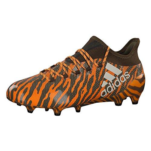 adidas adidas Herren X 17.1 FG Fußballschuhe, Orange Borang Talc Traoli, 42 EU