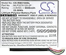 Cameron Sino Li-Polymer Replacement Battery for Verizon Ellipsis 10 , QTAIR7 , Ellipsis 10 XLTE Tablet PC