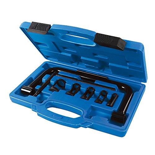 Silverline 494569 Compresor para Muelles de Válvula, Negro, 16-30 mm
