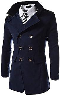 HX fashion Cappotto Giacche da da Giacca Cappotti Uomo Marinaio Giacca Taglie Comode da Uomo Giacca da Marinaio Giacca in ...