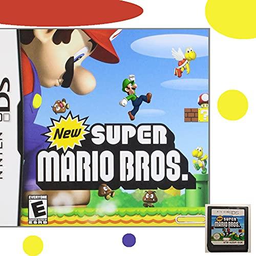 New Super Mario Bros Game Card, Game Card with New Story, Play Levels, Game Card Cartridge for Nintendo DS, NDSL, NDSi, NDSi LL/XL, 3DS, 3DSLL/XL, New 3DS, New 3DS LL/XL, 2DS, New 2DS LL/XL