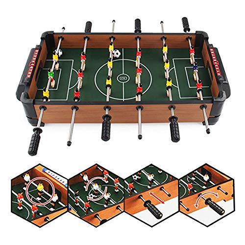 SYCHONG Sechs-Fuß-Tischfußball-Mini Beweglicher, Kinderspielzeug, Lern Freizeit Unterhaltung Interactive Sportspiele Geschenk Spielzeuge, Eltern-Kind-Spiele, Familienfeiern
