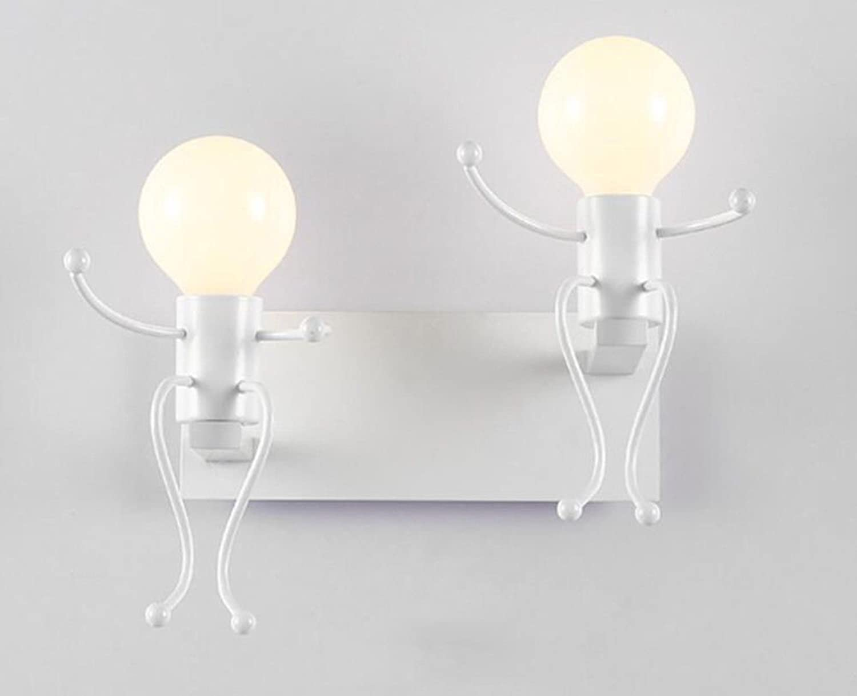 StiefelU LED Wandleuchte nach oben und unten Wandleuchten Wandleuchte Schlafzimmer Wohnzimmer Wand in der Strae Kinder Zimmer Licht, wei