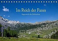Im Reich der Fanes - Sagenwelt der Dolomiten (Tischkalender 2022 DIN A5 quer): Die Fanesalm gilt als eine der schoensten Naturlandschaften der Dolomiten - festgehalten in diesem Kalender. (Monatskalender, 14 Seiten )