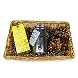 Charcutería té y pastel cesta de regalo - un gran regalo para el cumpleaños, Como agradecimiento, a buena mejora