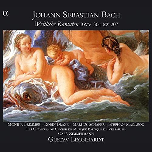 Les Chantres du Centre de Musique baroque de Versailles, Café Zimmermann & Gustav Leonhardt