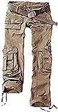 Juicy Trendz De las Mujeres Carga Pantalones Militar Señoras Ejército Combate Multi Bolsillo Pantalones