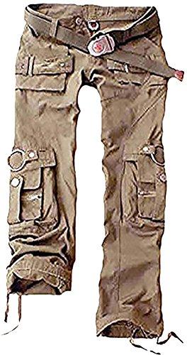 Juicy Trendz® De las Mujeres Carga Pantalones Militar Señoras Ejército Combate Multi Bolsillo Pantalones