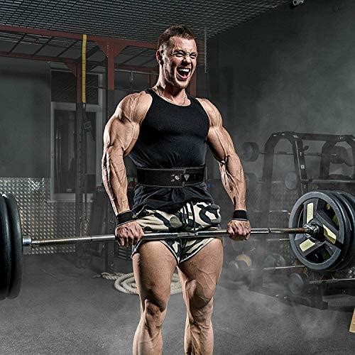RDX Gym Leder Gewichthebergürtel Training Fitness Gürtel Dips Dreikampfgürtel - 3