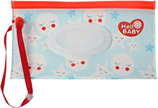 dispensador de toallitas h/úmedas Reutilizable LnLyin Bolsas de toallitas h/úmedas respetuosas con el Medio Ambiente Bolsa para toallitas h/úmedas de beb/é
