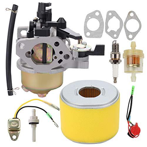 Harbot 16100-ZE3-V01 GX390 Carburetor for Honda GX 390 13HP GX340 11HP Engine Parts Pressure Water Pump with 17210-ZE3-505 Air Filter