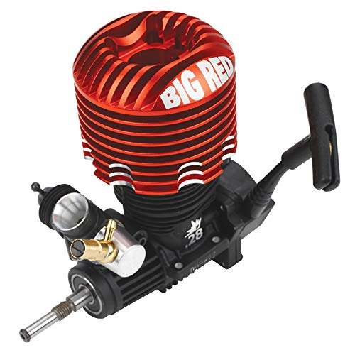 "Dynamite ""Big Red"" Monster 28 Mach 2 Pull/Spin Start Nitro Engine"
