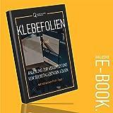 [12,14€/m²] Klebefolie in Holz-Optik inkl. Rakel & eBook I versch. Dekore & Maße I Selbstklebende Folie Holz für Möbel Küche Tür & Deko I Möbelfolie Holzdekor dunkel - Eiche Umbra [210 x 90cm] - 7