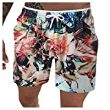 Shorts De Playa Hombre Shorts Swim Trunks Shorts De Playa De Secado RáPido Para Hombre Geometric Imprimieron Verano Sport Moda Surf PantalóN Corto-Para Hombre Pantalones Cortos De Playa Casuales